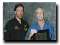 Master Chuck Norris &amp; Master John B. Will